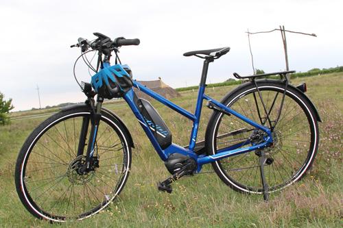 Sportliches E-Bike von Radverleih Mürner