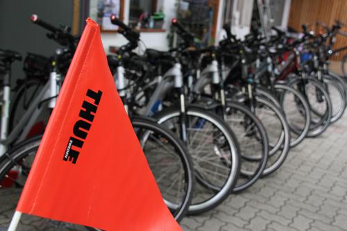 Fahrräder im Radverleih & Radshop Mürner